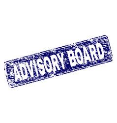 Grunge advisory board framed rounded rectangle vector