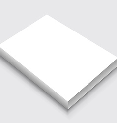 A4 Paper Stack vector image