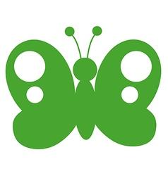 Butterfly cartoon vector image