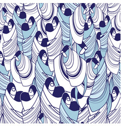 seamless abstract graphic pattern vector image vector image