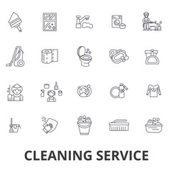 cleaning service house cleaning office cleaning vector image vector image