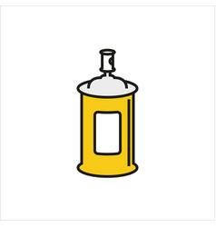 Spray icon on white background vector