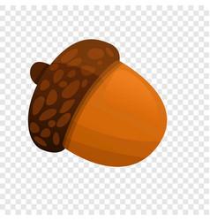 Acorn icon cartoon style vector