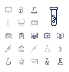 Analysis icons vector