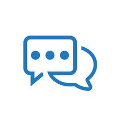 Conversation discussion icon vector