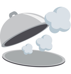 flying object in cloche-01 vector image