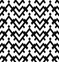Monochrome heart seamless pattern vector