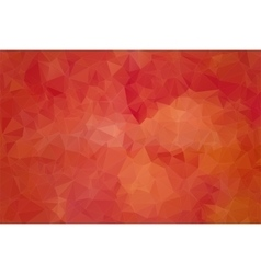 Red abstract background consisting of angular vector