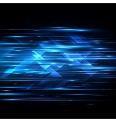 High speed Hi-tech Abstract technology vector image