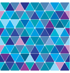 winter triangle pattern 25 vector image