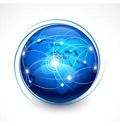 concept internet communication vector image