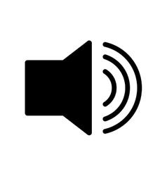 Volume bullhorn symbol vector