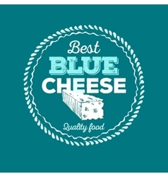 Cheese icon hand drawn Round cheese wheel sign vector image