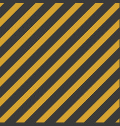 black and yellow stripe seamless pattern vector image