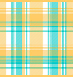Blue yellow light color check tablecloth seamless vector