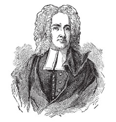Cotton mather vintage vector
