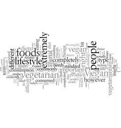 Diets similar to veganism vector
