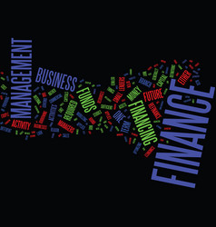 Finance general overview text background word vector