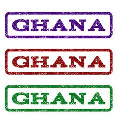 Ghana watermark stamp vector