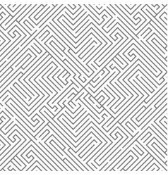 Labyrinth intricacy maze seamless pattern vector