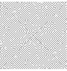 labyrinth intricacy maze seanless pattern vector image
