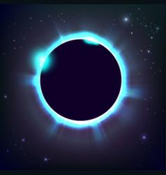 Sun eclipse cosmic vector