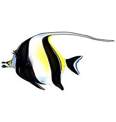 Ocean Fish vector image vector image