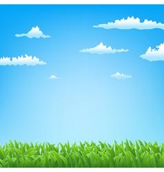 green field backgorund vector image vector image