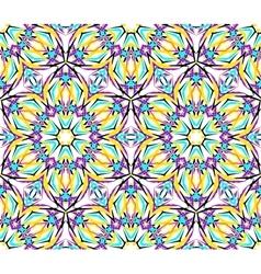 Thin Kaleidoscopic Fractal Pattern vector image