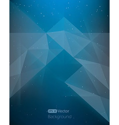 Abstract dark blue background diamond style in vector image vector image