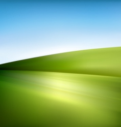 landscape illustration vector image