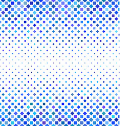 Blue square pattern background design vector