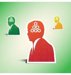 business man conceptual vector image vector image