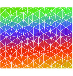 Multicolor geometric background consist of vector image vector image