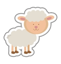Sheep animal icon image vector