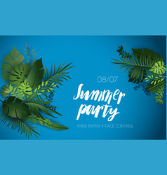 summer vibes party vector image