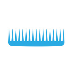 comb hair icon isolated style brush barber female vector image vector image