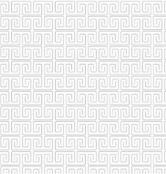 Slim gray square spirals fastened vector