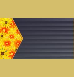 Summer banner background black wooden backdrop vector