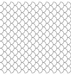fish scales seamless pattern vector image