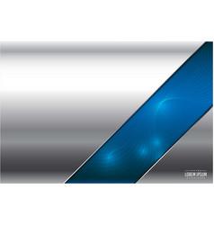 Metallic technology background vector