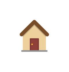 modern home icon vector image
