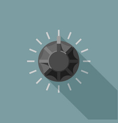 round switch icon vector image
