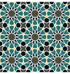 Seamless pattern in Moroccan style vector