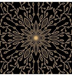 symbol flower vector image