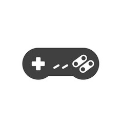 video game joystick icon vector image