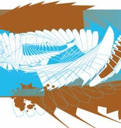 wall abstract vector image vector image