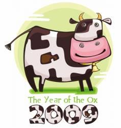 Chinese Zodiac ox vector