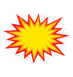 Comic splash vector