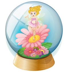 Fairy Crystal Ball vector image